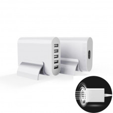 High Quality 5 Port Usb Charger Travel  Adapter Intelligent D
