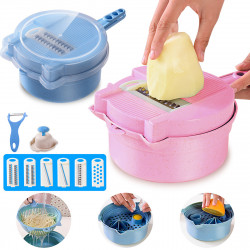 13 Pcs/set Vegetable Slicer Food Grater Cutter Fruit Chopper Peeler Shredder Vegetable Cutter
