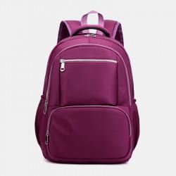 Women Large Capacity Waterproof Multi-Pocket Backpack