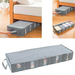 53L Under Bed Storage Bag Bedding Clothes Organizer Home Underbed Space Saving