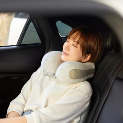 Xiaomi 8H Air U Shape Pillow Soft Memory Foam Airplane Car Neck Support Cushion Office Nap Pillows