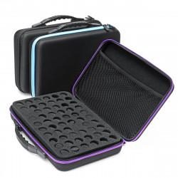 60 Bottle Essential Oil Case Carrying Portable Travel Holder 10ML Storage bag