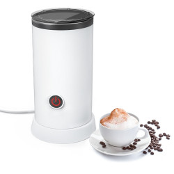 Digoo DG-HS005 Electric Milk Frother Machine Warmer 550W Automatic Milk Heating 240ml Stainless Steel Inner Foam Maker