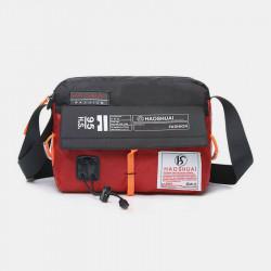 Men Fashion Mini Phone Bag Nylon Waterproof Shoulder Bag Crossbody Bag Sports Bag