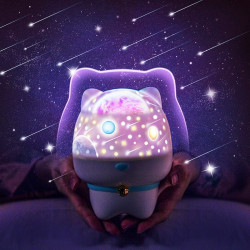 Bakeey Romantic Kids Gifts Sky Star LED Starry Projector Lamp Night Light 6 Color Changing bluetooth Speaker