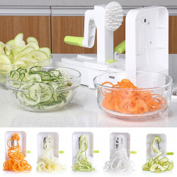 Multifunction Vegetable Fruit Chopper Hand Rotation Salad Shredder Dinner Machine for Kitchen Tool