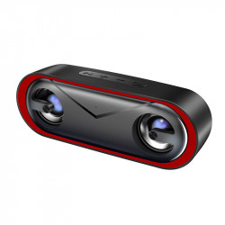 Bakeey Colorful LED Light Bass Speaker Wireless bluetooth 5.0 Speaker FM Radio Flash Drive TF Card Subwoofer with Mic