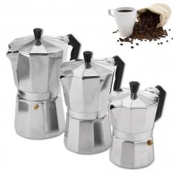 Moka Pot Stovetop Espresso Coffee Maker Latte 150/300/450ML