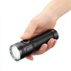 Xmund XD-FL7 25w 2500lm 500m Powerful 26650 Flashlight USB Rechargeable LED Spotlight