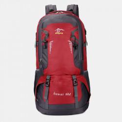 Men Large Capacity Walterproof Reduced Pressure Anti-seismic Knapsack Backpack Travel Bag
