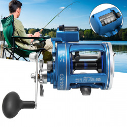 12BB 3.8:1/5.2:1 Gear Ratio Left Right Hand Fishing Reel High Speed Fish Wheel