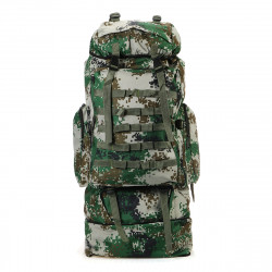 100L Outdoor Folding Backpack Military Tactical Shoulder Bag Riding Camping Climbing Hiking Bags
