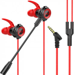 Bakeey G11 3.5mm In-Ear Wired Control Earphone Noise Reduction Gaming Headset for PC Phones with Mic