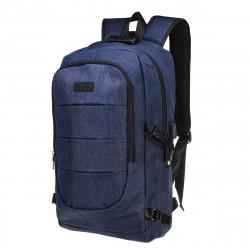 Unisex Anti-Theft Laptop Backpack Travel Business School Bag Rucksack With Safe Lock + USB Port