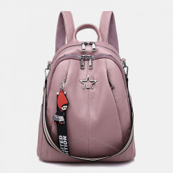 Women Fashion Mini Anti-theft Backpack Shoulder Bag