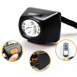 BIKIGHT 3W 4500LM Miners Cordless Power LED Helmet Light Bike HeadLamp Lamp Torch