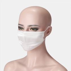 High Elasticity Double-layer Silk Mask Breathable Printed Masks Sunscreen Windproof