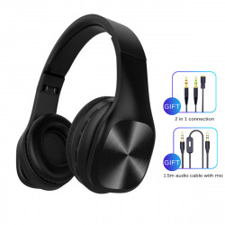 Two Modes Foldable bluetooth 5.0 Headphone Seven Sound Effects Wireless Gaming Headset with Mic