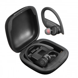 B5 TWS True Wireless Stereo Earbuds bluetooth 5.0 Ear Hook Earphone LED Display Headphones with Charging Case