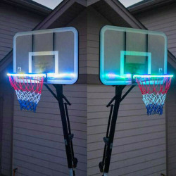 Basketball Rim Light LED Solar Light Sport Basketball Accessories
