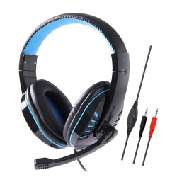 Soyto SY755MV 3.5mm Wired Game Headphone Bass Gaming Headset Stereo Earphone Headphones with Microphone for Computer PC Gamer