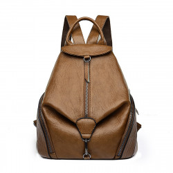 Women Anti-Theft Leather Backpack Kadell Fashion Ladies Purse Anti Theft Bag Casual Travel Rucksack Shopping Daypack