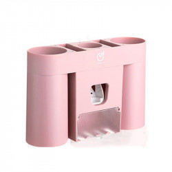 Automatic Toothpaste Dispenser Toothbrush Holder Toothpaste Squeezer