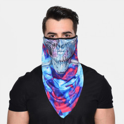 Windproof Sunscreen Quick-drying Breathable Riding Scarf Bandana Balaclava Neck Gaiter Neck Tube UV Resistant Quick Dry Lightweight Materials Cycling For Adults