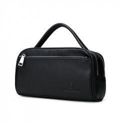 Men Fashion Large Capacity Business Leather Briefcase Handbag