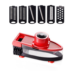 Kitchen Multi-Functional Vegetable Manual Slicer Vegetable Fruit Cutter Stainless Steel Mandoline Onion Peeler Carrot Grater Dicer KitchenAccessories