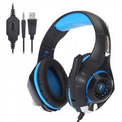 Bakeey 3.5mm USB Flow Light Gaming Headset Stereo Noise Reduction Real Game Voice Earphone Hifi Bass Headphone with MIC