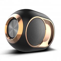 Wireless bluetooth Speaker Portable Heavy bass Stereo Surround Sound FM Radio TF Card AUX Speaker with Mic