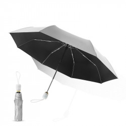 IPRee UPF50+ 2-3 People Travel Automatic Umbrella Three Folding Umbrella Camping Sunshade