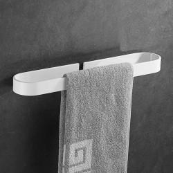 30/40/50CM  Bathroom Single Rod Towel Towel Rack Towel Holder Wall Mounted Rack