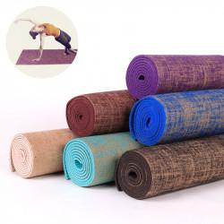 183x61cm PVC Yoga Mats Anti-slip Gymnastic Pad Sport Fitness Exercise Mat