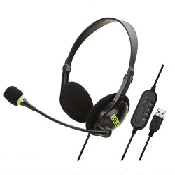 Soyto SY440MV USB Wired Game Headphone Bass Gaming Headset Stereo Headphones Earphone with Microphone for Computer PC Gamer