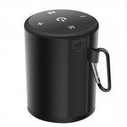Portable Wireless bluetooth Speaker HiFi Dual Driver Stereo 1800mAh Climbing Sports Outdoors Speaker with Mic