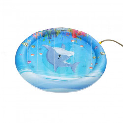 39inch Inflatable Toys Splash Water Play Mat Outdoor Pool Beach Mat Children Toy Pad