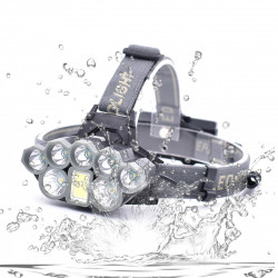 Xmund XD-HL4 T6+Q5 2000LM LED Waterproof Headlamp 18650 Battery USB Interface COB Flashlight Bike Cyclings
