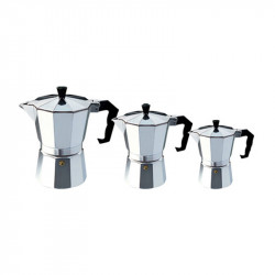 Moka Espresso Coffee Maker Machine Aluminum 3cup/6cup/9cup Italian Stove Top percolator Pot Tool