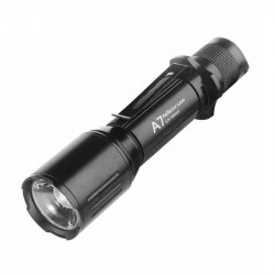 WARSUN A7 Mini Zoomable Flashlight Super Bright 18650 Battery LED Torch Light