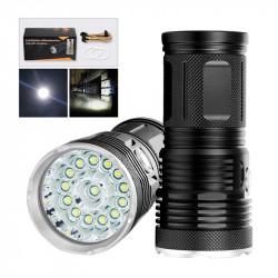 XANES EX14/EX18 T6 7500K LED 2500Lumens 3 Modes IPX5 Waterproof Flashlight 18650 Battery