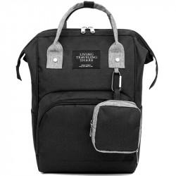 2 Pcs Multifunction Diaper Bag Set Mummy Nappy Bag Handbag Camping Travel Storage Bag