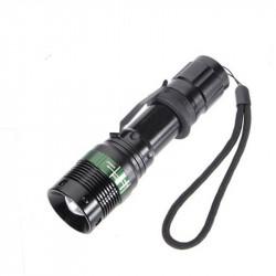 Elfeland SA9 2000lm Zoomable Mini Torch + 1Pcs Elfeland 3000mAh 3.7V 18650 Battery Household Useful Long Shot Flashlight