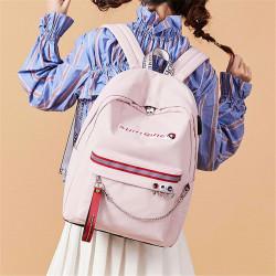 Waterproof Anti-theft Women USB Port Backpack Laptop Travel School Shoulder Bag