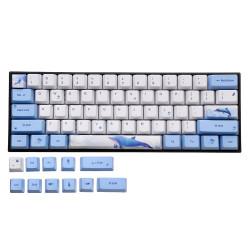 OEM Profile PBT Sublimation Whale Keycap for 60% Anne pro 2 Royal Kludge RK61 Geek GK61 GK64 Mechanical Keyboard