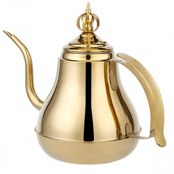 1.2/1.8L Stainless Steel Coffee Drip Pot Gooseneck Kettle Teapot with Filter Induction Cooker Tea Kettle