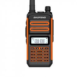 BAOFENG BF-S5plus 18W Waterproof UV Dual Band Handheld Radio Walkie Talkie Flashlight Hiking Interphone