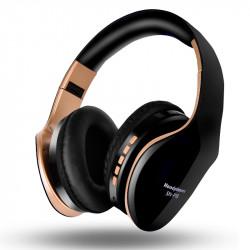 Bakeey SN-P18 Wireless bluetooth Headphone Foldable Stereo Handsfree 3.5mm Audio TF Card Headset with Mic