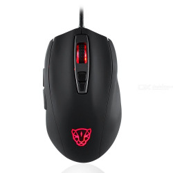 Motospeed V60 5000 DPI USB Wired 7 Button RGB Backlight Optical Gaming Mouse for PC